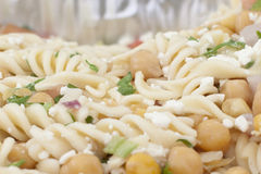 Close up spiral pasta Royalty Free Stock Images