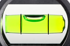 Close up of spirit level for construction work Stock Photo