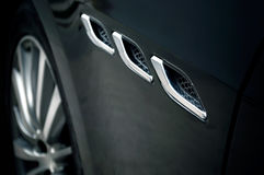 Close-up of sport car details. Stock Images