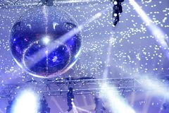 Close up of disco ball royalty free stock images