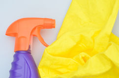 Close up of spray bottle Stock Photography