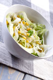 Close up of spring salad Royalty Free Stock Photography