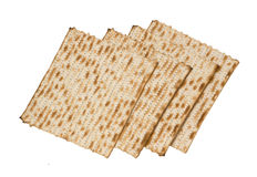 Close up of square matza Stock Photography