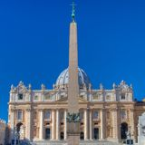 Close-up of St Peters Basilica Royalty Free Stock Photos