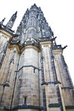 Close up of st. Vitus cathedral Stock Photography