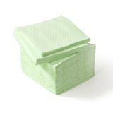 Stack of paper napkins Royalty Free Stock Photos