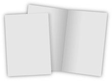 Close up of stack. Of papers on white background Stock Images