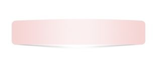 Close up of pink paper with curl on white background Royalty Free Stock Photography