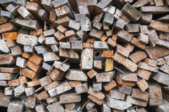 Close up of a stack of timber Stock Images