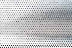 Close up stainless bench in park royalty free stock images