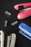 Close up stapler Stock Photo