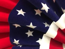 Stars and stripes banner Royalty Free Stock Photography