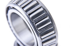 Close-up of Steel Bearings. Wheel bearings for cars and other vehicles stock photo