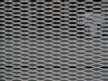 Close up of steel mesh barrier Royalty Free Stock Image