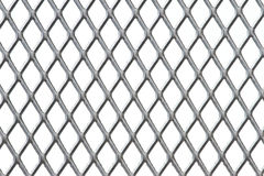 Close up steel net Stock Images