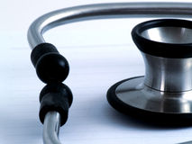 Close up of stethoscope Royalty Free Stock Photos