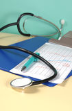 Close up of a stethoscope Stock Photography