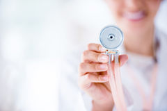 Close up on a stethoscope Stock Photos