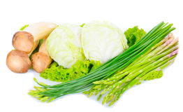 Close-up still life with mixed vegetables Royalty Free Stock Photos