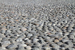 Close up of stone road texture Stock Images