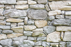 Close up stone wall Royalty Free Stock Photography