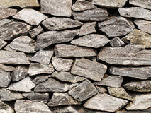 Close-up of of stone wall Stock Photo