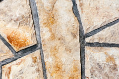 Close-up of stone wall texture Stock Photos