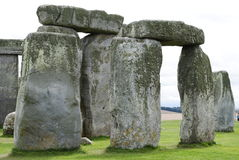 A Close Up of Stonehenge. Stonehenge in Salisbury, Wiltshire famous for its landmark and pagan worship royalty free stock photos