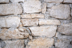 Close-up stonewall texture Royalty Free Stock Photos