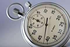Close-up of a stopwatch Stock Photography