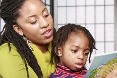 Close up of story time Royalty Free Stock Images