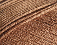 Close up of strands of yarn Royalty Free Stock Photo