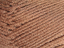 Close up of strands of yarn Royalty Free Stock Images