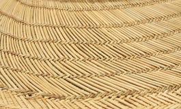 Close Up of Straw hat Brim stock image