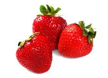 Close up of a strawberries Royalty Free Stock Images