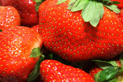 Close-up of strawberries Royalty Free Stock Image