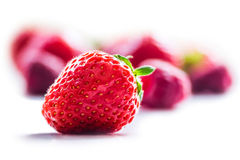 Close-up of strawberries Royalty Free Stock Images