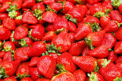 Close up of strawberry Stock Images