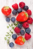 Close up of strawberry Royalty Free Stock Images