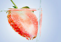 Close up Strawberry Royalty Free Stock Photo