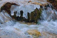 Ice stream Royalty Free Stock Photo