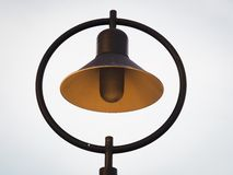 Close Up Of Street Lamp Stock Photo