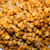 Close up of  struffoli Stock Photography