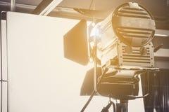 Studio lighting equipment. Close up of Studio lighting equipment stock photo