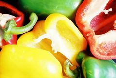 Fresh Peppers Concept royalty free stock photography