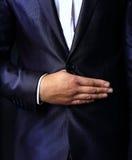 Close up  of stylish man in elegant Stock Photography