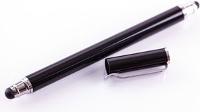 Stylus with wide and narrow tip Stock Photography