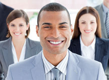 Close-up of successful business team Stock Images