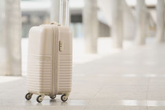 Close up of suitcase royalty free stock images