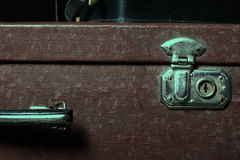 Close-up of a suitcase Royalty Free Stock Photography